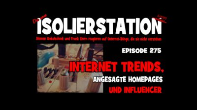 #275 - Internet Trends, angesagte Homepages & Influencer